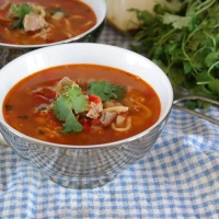 Süyuqash, Uyghur lamb soup