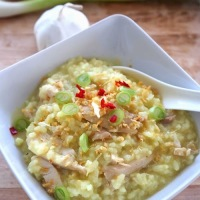 Arroz caldo, filipino comfort food