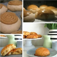 Yummy delicious coffee buns, Roti bun