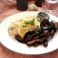 Tocilog, filipino brakfast dish and an easy tocino recipe