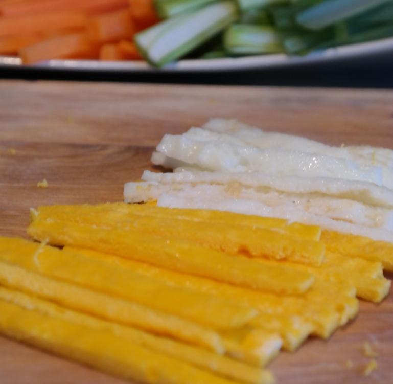 Japchae egg agj