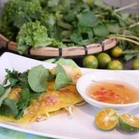 Banh xeo, Vietnamese sizzling crepes