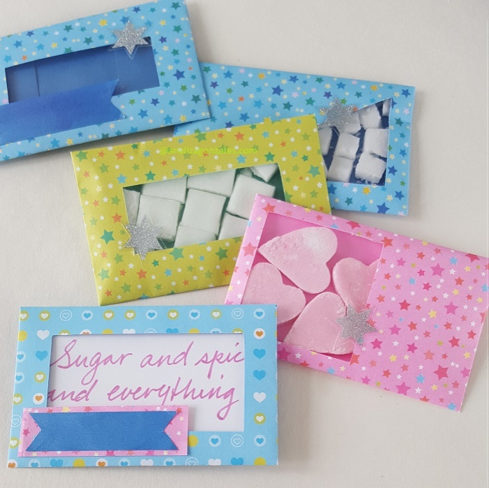 Party favour envelopes DIY
