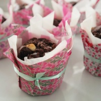 Homemade cupcake liners. decorative life hack