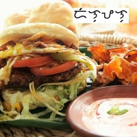 Longaniza burgers with egg and some more, DiLongPaLog