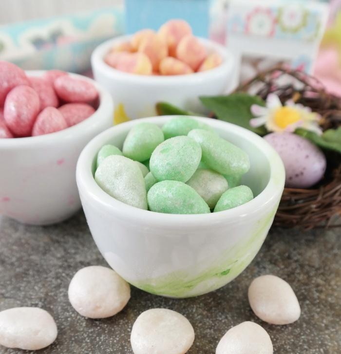 Homemade jelly beans