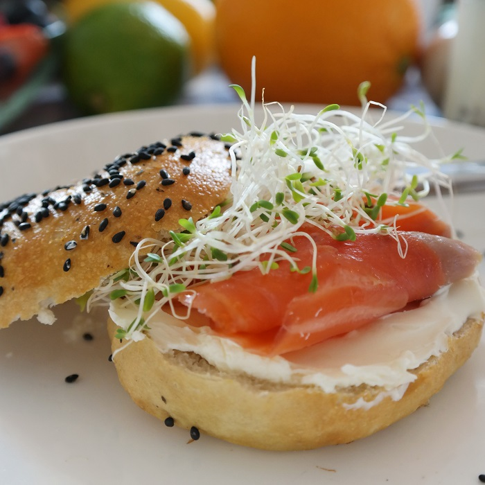 Bagel and lox