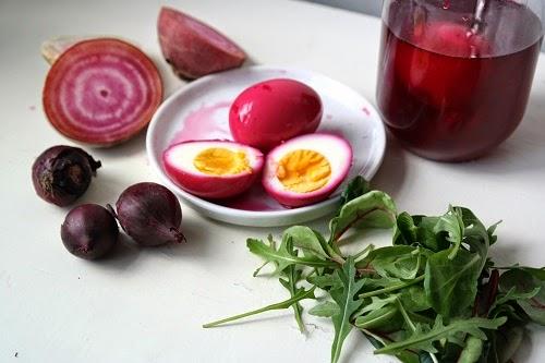 Pink devild eggs