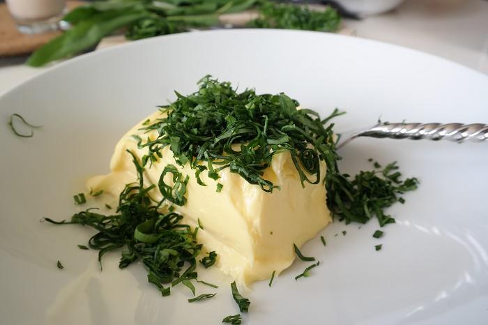 Wild garlic butter