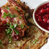 Raggmunkar, swedish potato pancakes