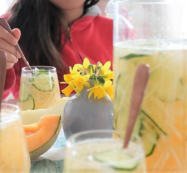 Tørsteslukker, vann, Lizas matverden, melon, melonvann, frisk, forfriskende
