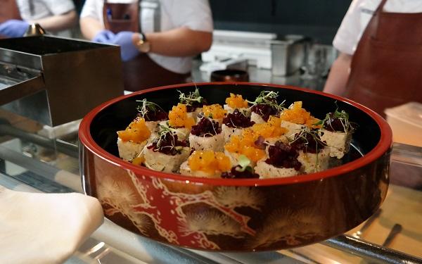 Vegetarian maki, Genki Vika terasse, Oslo, Analiza Gonzales, Japanese