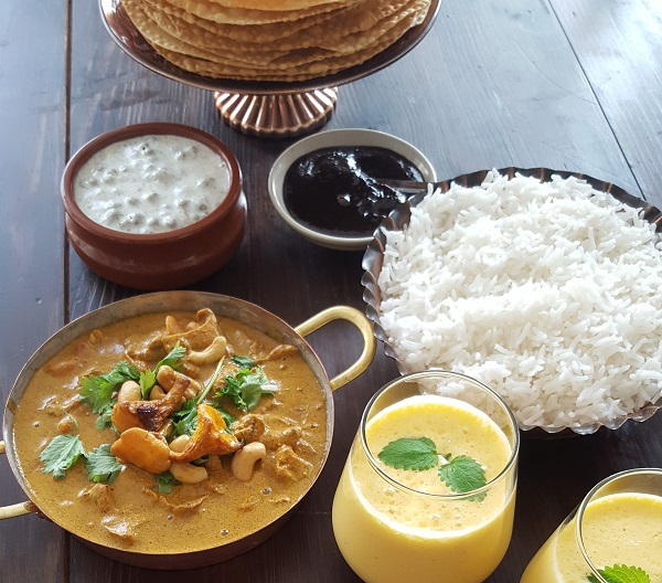 Vegan tikka masala, Vegetarian, Chanterelles, Indian
