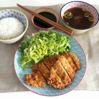 Tonkatsu, Japanese schnitzel or Dongas in Korean