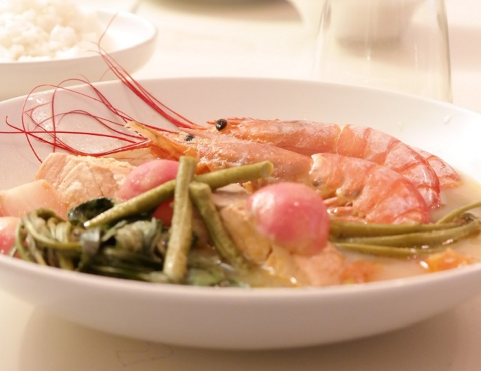 Sinigang, Filipino, Filipinsk, Tamarind. Salmon